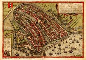 Amsterdam around 1600 AD