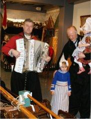 Traditional Volendammer costumes