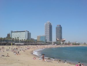Strand of Barcelona