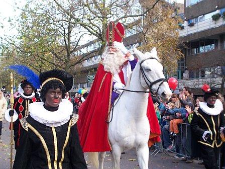 Sinterklaas emtering Amsterdam