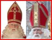 The mitres of Sinterklaas