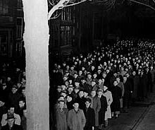 Stille omgang processie 1950